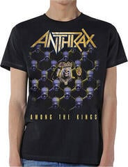 Anthrax Unisex Tee Among The Kings (Back Print) Black