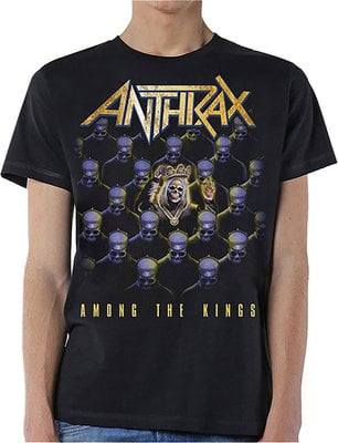 Anthrax Unisex Tee Among The Kings (Back Print) M