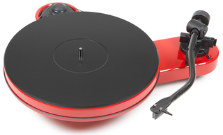 Pro-Ject RPM-3 Carbon 2M Silver High Gloss Red