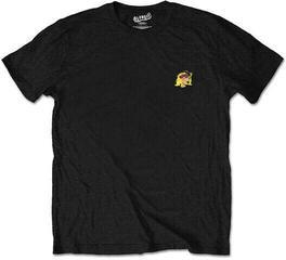 Blondie Unisex Tee Punk Logo (Back Print/Retail Pack) Black