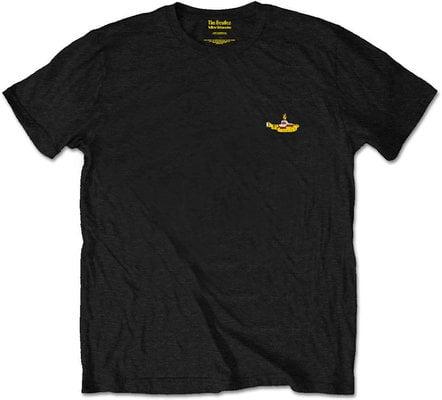 The Beatles Unisex Tee Nothing Is Real Black (Back Print/Retail Pack) M
