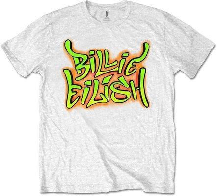 Billie Eilish Unisex Tee Graffiti M