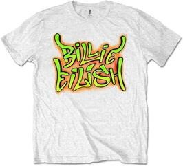 Billie Eilish Unisex Tee Graffiti White