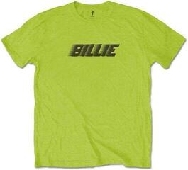 Billie Eilish Unisex Tee Racer Logo & Blohsh Lime Green M
