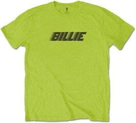 Billie Eilish Unisex Tee Racer Logo & Blohsh Lime Green Lime Green