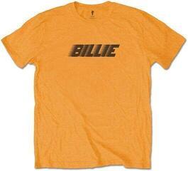 Billie Eilish Unisex Tee Racer Logo & Blohsh Orange Orange