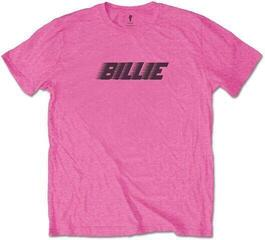 Billie Eilish Unisex Tee Racer Logo & Blohsh Pink XL