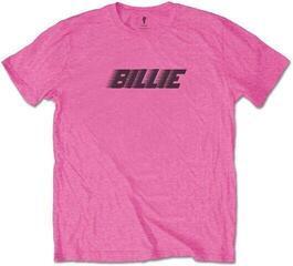 Billie Eilish Unisex Tee Racer Logo & Blohsh Pink XXL