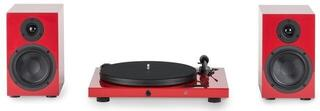 Pro-Ject Set Juke Box E + Speaker Box 5 High Gloss Red