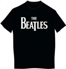 The Beatles Kid's Tee Drop T Logo (Boy's Fit/Retail Pack) Black