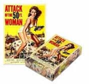 Plan 9 Attack Of The 50ft Woman (500 Piece Jigsaw Puzzle)