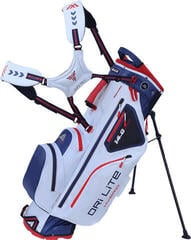 Big Max Dri Lite Hybrid White/Navy/Red Stand Bag