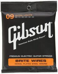 Gibson 700UL Brite Wires Electric 009-042