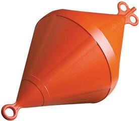Nuova Rade Bouée d'amarrage biconique en plastique 28 cm 64 cm