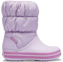 Crocs Winter Puff Boot Kids Lavender