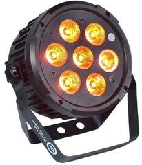 Light4Me Black Par 7X10W RGBWa LED