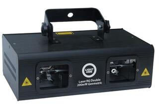 Light4Me Laser Rg Double 200mW Geometric
