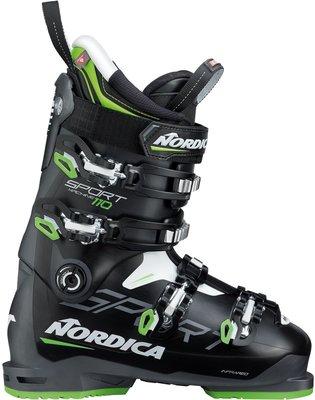 Nordica Sportmachine 110 Black/Anthracite/Green 290