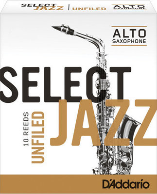 D'addario-Woodwinds Select Jazz Unfiled 2S alto sax