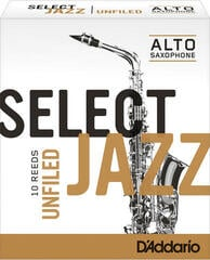 D'Addario-Woodwinds Select Jazz Unfiled 3S alto sax