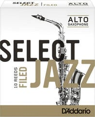 D'Addario-Woodwinds Select Jazz Filed 2H alto sax