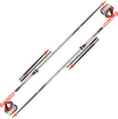 Leki Micro Trail Vario Light Anthracite/Black/Neon Red/White