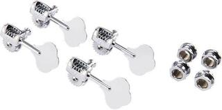 Fender Deluxe Bass Tuners with Fluted-Shafts Chrome