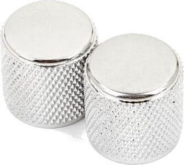 Fender Telecaster/Precision Bass Knobs Knurled Chrome