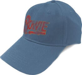 David Bowie Unisex Baseball Cap Flash Logo Denim