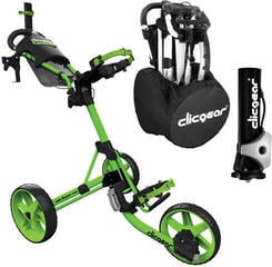 Clicgear M4 Matt Lime Deluxe SET