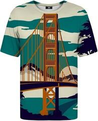 Mr. Gugu and Miss Go Golden Bridge T-Shirt Fullprint