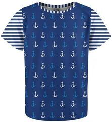 Mr. Gugu and Miss Go Ocean Pattern Kids T-Shirt Policotton Fullprint