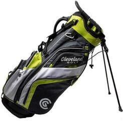 Cleveland Saturday 19 Stand Bag Chrome/Lime/White