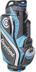 Cleveland Light Cart Bag Charcoal/Blue/White