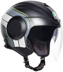 AGV Orbyt Multi Brera Matt-Black/Grey/Yellow Fluo L