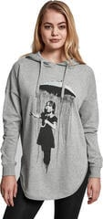 Banksy Umbrella Oversized Hoody Grey M