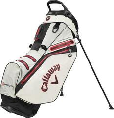Callaway Hyper Dry 14 Stand Bag Stone/Black/Red 2020