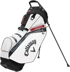 Callaway Hyper Dry 14 Stand Bag White/Black/Red 2020