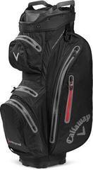 Callaway Hyper Dry 15 Cart Bag Black/Charcoal/Red 2020