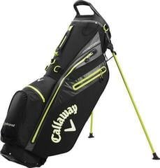 Callaway Hyper Dry C Stand Bag Black/Charcoal/Yellow 2020