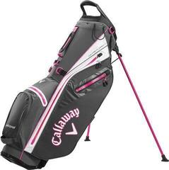 Callaway Hyper Dry C Stand Bag Charcoal/White/Pink 2020