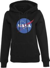 Mister Tee Ladies NASA Insignia Hoody Black