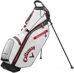 Callaway Hyper Dry C Stand Bag Stone/Black/Red 2020