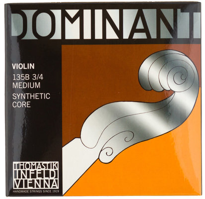 Thomastik 135B Dominant Violin String Set 3/4