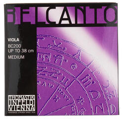 Thomastik BC200 Belcanto Viola String Set