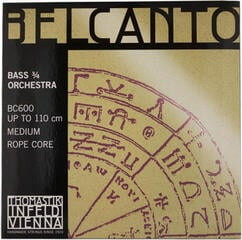 Thomastik BC600 Belcanto Double Bass String Set 3/4