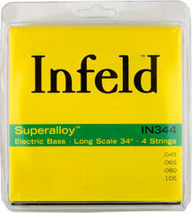 Thomastik IN344 Infeld Superalloy Bass Strings Set