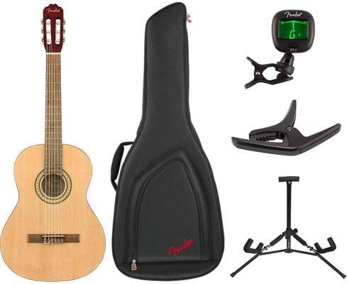 Fender FC-1 Classical WN Natural SET