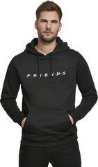 Friends Logo EMB Hoody Black