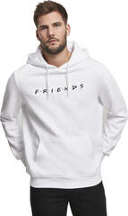 Merchcode Friends Logo EMB Hoody White